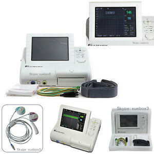 Cms800g Contec Fetal Monitor Fhr Toco Fmov Real Time Machine 3 In 1 Probe hot