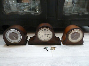 2 X Smiths Westminster Chiming 1 Mantle Clock Ex Condition 1 Appears Working