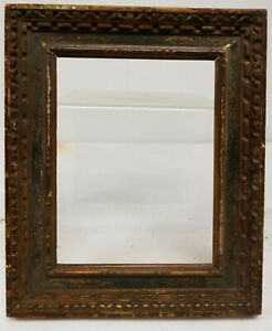 Antique Style Carved Italian Painted Florentine Picture Painting Frame