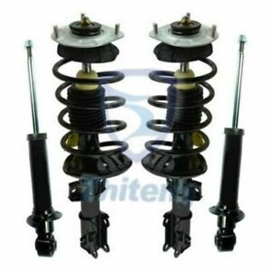 Fit For Bmw E90 Rwd New Complete Loaded Shock Strut Spring Assembly Front Pair