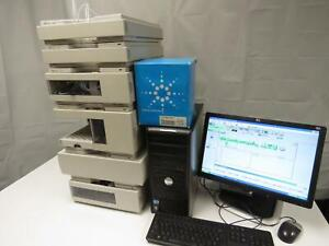 Agilent 1100 Hplc Dad System With Pc And Chemstation