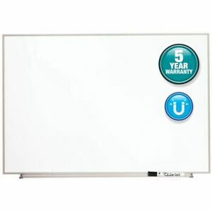 Quartet Matrix Magnetic Marker Dry erase Board 34 X 23 White silver