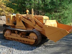 Beautifully restored 1959 Allis Chalmers Hd6g Crawler Loader runs Great