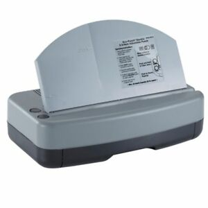 Officemate Electric 2 3 Hole Adjustable Eco punch 30 Recycled Black gray gr