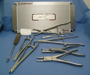Synthes Universal Spine Rod Instruments Set German Stainless