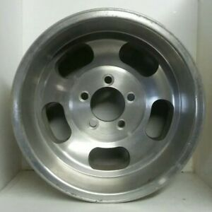Vintage Nos Western Slot Mag Wheel Like Shelby 14 x9 5 On 4 5 Machined Ec