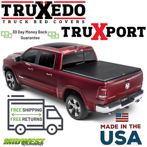 Truxedo Truxport Soft Roll Up Tonneau Cover 2019 Dodge Ram 1500 6 4 Bed
