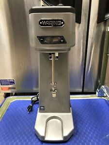 Waring Commercial Wdm120t Single Head Drink Mixer With Timer Silver