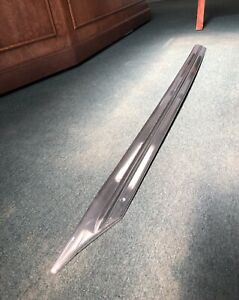 1946 1947 Cadillac Stainless Rocker Molding 2dr Fastback Convertible 51 1 2