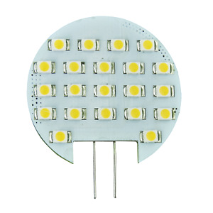 Cool White G4 Bi Pin 21 Smd Led Rv Home Marine Cabinet Light Car Bulb Dc 10 30v