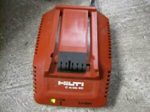 Hilti C 4 36 90 Battery Charger used