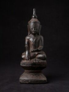 18th Century Antique Burmese Shan Buddha Statue From Burma