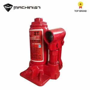 Machinist 2 Ton Car Portable Hydraulic Bottle Lifting Jack Automotive