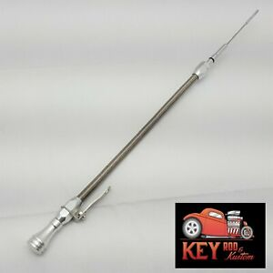 Ls Truck Engine Flexible Oil Dipstick Aluminum Stainless Steel 4 8 5 3 6 0