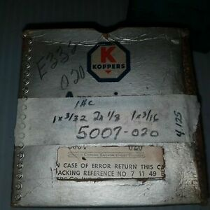 Koppers Piston Ring Set 6004 020 Ihc 361 401 5007 020