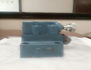 Continental Hydraulics Manual Flow Control Check Valve 3000 Psi