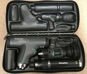 Welch Allyn Ophthalmoscope And Otoscope 97800 ms Panoptic Diagnostic Set