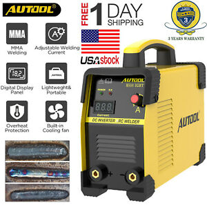 Autool 110v Handheld Arc Inverter Mini Welder Igbt 20 160a Welding Machine