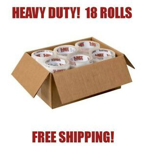 Bulk T rex Packaging Tape 35yd Clear 18 Rolls Packing Tape Shipping Moving