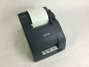 Epson Tm u220d M188d Receipt Printer Serial Rs 232 Needs Ribbon