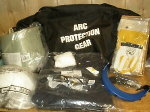 Chicago Protective Apparel Arc Flash Coverall Kit Navy 3xl Ag 12 3xl Complete