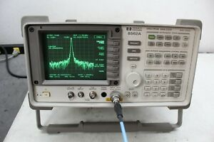 Hp Agilent 8562a Spectrum Analyzer 9 Khz 26 50 Ghz Calibrated Refurbished