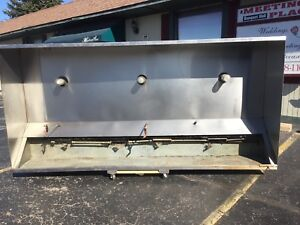 Restaurant Hood System 10 Ft Exhaust Ventilation