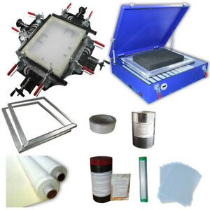 Uv Exposure Unit For Screen Printing Plate Making Machine Screen Fame Stretcher