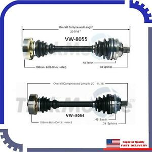 Cv Axle Shaft A Pair Front Left Right For 1995 Volkswagen Eurovan Transport