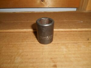 21 Mm Husky Usa Impact Short Socket 6pt 1 2 Dr