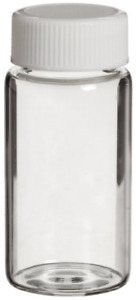 Wheaton 986540 Borosilicate Glass 20ml Liquid Scintillation Vial With 22 400 Of