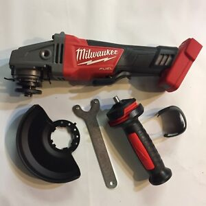 Milwaukee 2780 20 18 Volt Fuel Brushless 4 1 2 5 Cordless Angle Grinder New