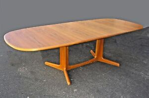 Vintage Danish Mid Century Modern Dining Room Table Denmark By Gudme Moblefabrik
