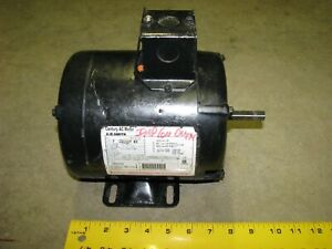 Century Ao Smith Electric Motor 719400702 1 2 1 4 Hp 1725 Rpm 115 Volt Ac 1phase