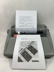 Brother Electric Typewriter Daisy Wheel Sx 4000 78 000 Dictionary correction