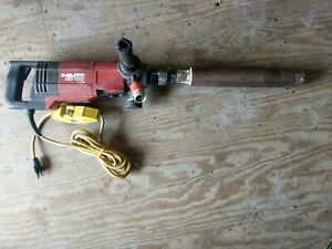 Hilti Dd 130 Core Drill Hand Held Dry wet System 115v ac