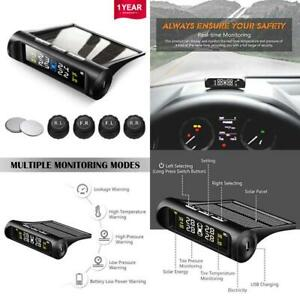 Favoto Tpms Tire Pressure Monitoring System Solar Power Universal Wireless With