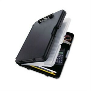 Workmate Ii Storage Clipboard 1 2 Capacity Holds 8 1 2w X 12h Black charcoal