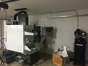 Used Haas Super Mini Mill Cnc Vertical Machining Center 15k Rpm 2017