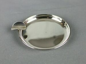 Vintage Sterling Silver 925 Mexico Plat Mex S A Ashtray