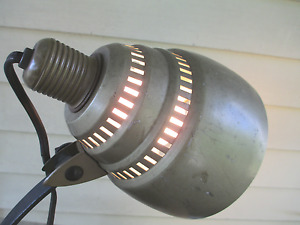 Desk Lamp Industrial Adjustable Iron Arm Bakelite General Electric Steampunk