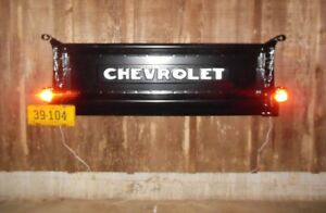 1953 Chevy Truck Tailgate Bench Wall Mount Chevrolet Vintage 48 49 50 51 52