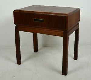 A Vintage Founders Furniture Co Mid Century Walnut Night Stand 1960 S