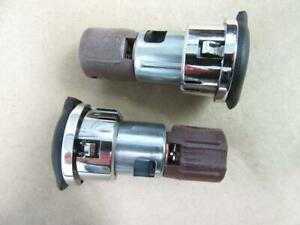 2 Two Oem Gm Auxillary Accessory Power Outlet Cigarette Lighter W Caps 25774623