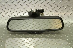 09 13 A5 Interior Rear View Mirror Convertible Automatic Dimming Black Factory