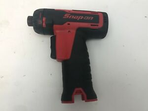 Snap On Cts761 1 4 Cordless 14 4v Screwdriver Drive Hex