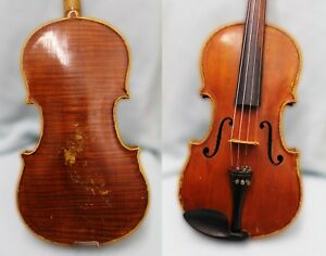 4 4 Fine Impressive Amazing 100 Years Old Antique Violin Gutsy And Full Sound