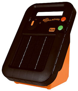 G341414 Solar Fence Charger S19 0 16 joules Quantity 1