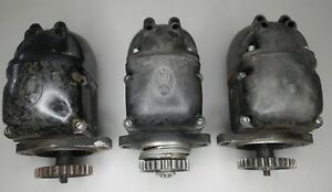 Lot Of 3 Case Tractor And Aircraft Air Craft Magneto Dc Sc