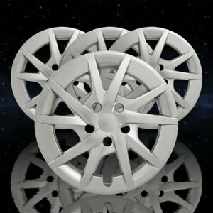 Auto Reflections Hyper Silver 10 Spoke 16 Wheel Covers For 12 17 Toyota Prius V